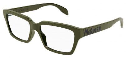 Alexander McQueen AM0332O Glasses - Green