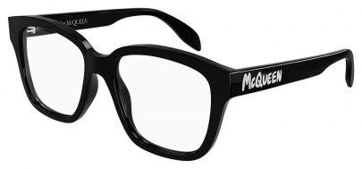 Alexander McQueen AM0333O Glasses - Black