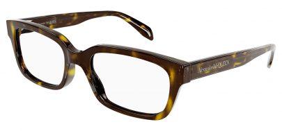 Alexander McQueen AM0345O Glasses - Havana