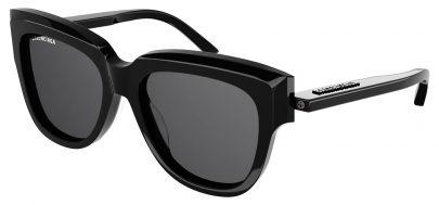 Balenciaga BB0160S Sunglasses - Black / Grey