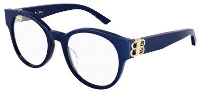 Balenciaga BB0173O Glasses - Blue