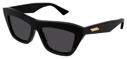 Bottega Veneta BV1121S Prescription Sunglasses - Black / Grey