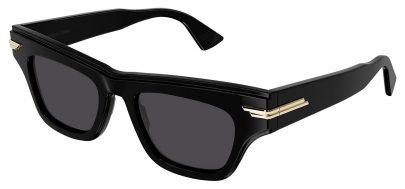 Bottega Veneta BV1122S Sunglasses - Black / Grey