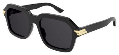 Bottega Veneta BV1123S Sunglasses - Black / Grey