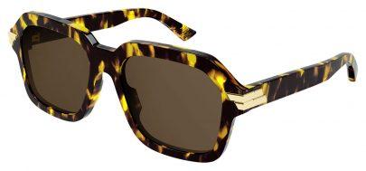 Bottega Veneta BV1123S Sunglasses - Havana / Brown