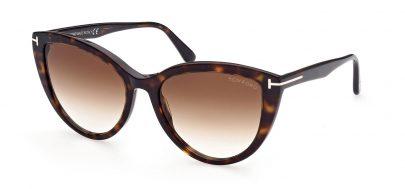 Tom Ford FT0915 Isabella-02 Prescription Sunglasses - Dark Havana / Brown Gradient
