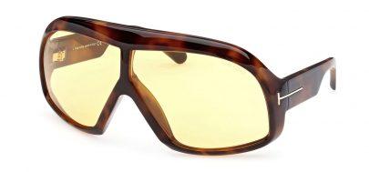 Tom Ford FT0965 Cassius Sunglasses - Dark Havana / Brown