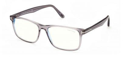 Tom Ford FT5752-B Glasses - Transparent Grey