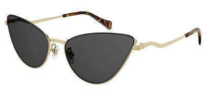 Gucci GG1006S Sunglasses - Gold / Grey