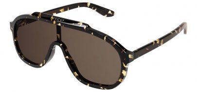 Gucci GG1038S Sunglasses - Havana / Brown