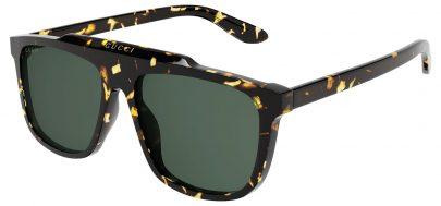 Gucci GG1039S Sunglasses - Havana / Green