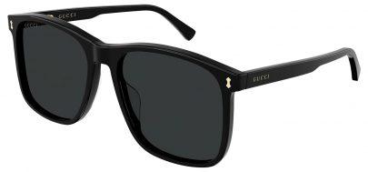 Gucci GG1041S Sunglasses - Black / Grey