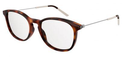 Gucci GG1049O Glasses - Havana & Silver