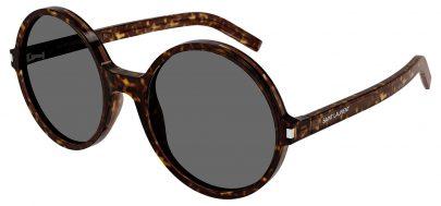 Saint Laurent SL 450 Sunglasses - Havana / Grey