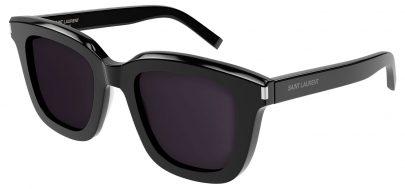 Saint Laurent SL 465 Prescription Sunglasses - Black / Grey