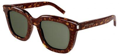 Saint Laurent SL 465 Prescription Sunglasses - Havana / Green