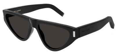 Saint Laurent SL 468 Prescription Sunglasses - Black / Grey