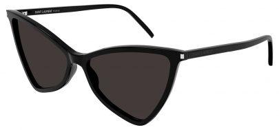 Saint Laurent SL 475 JERRY Prescription Sunglasses - Black / Grey
