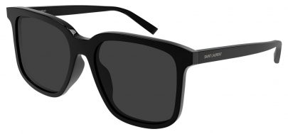 Saint Laurent SL 480 Prescription Sunglasses - Black / Grey