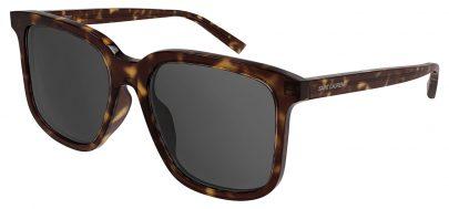 Saint Laurent SL 480 Prescription Sunglasses - Havana / Grey