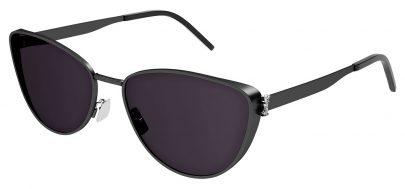 Saint Laurent SL M90 Prescription Sunglasses - Black / Grey