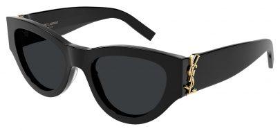 Saint Laurent SL M94 Prescription Sunglasses - Black / Grey